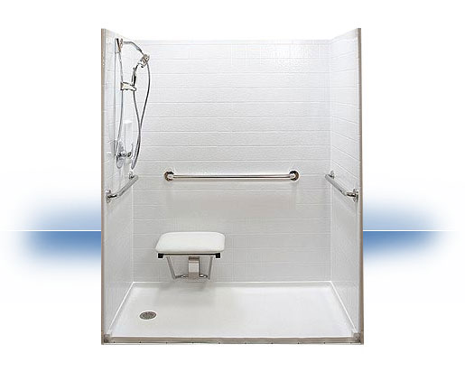Hominy Tub to Walk in Shower Conversion by Independent Home Products, LLC